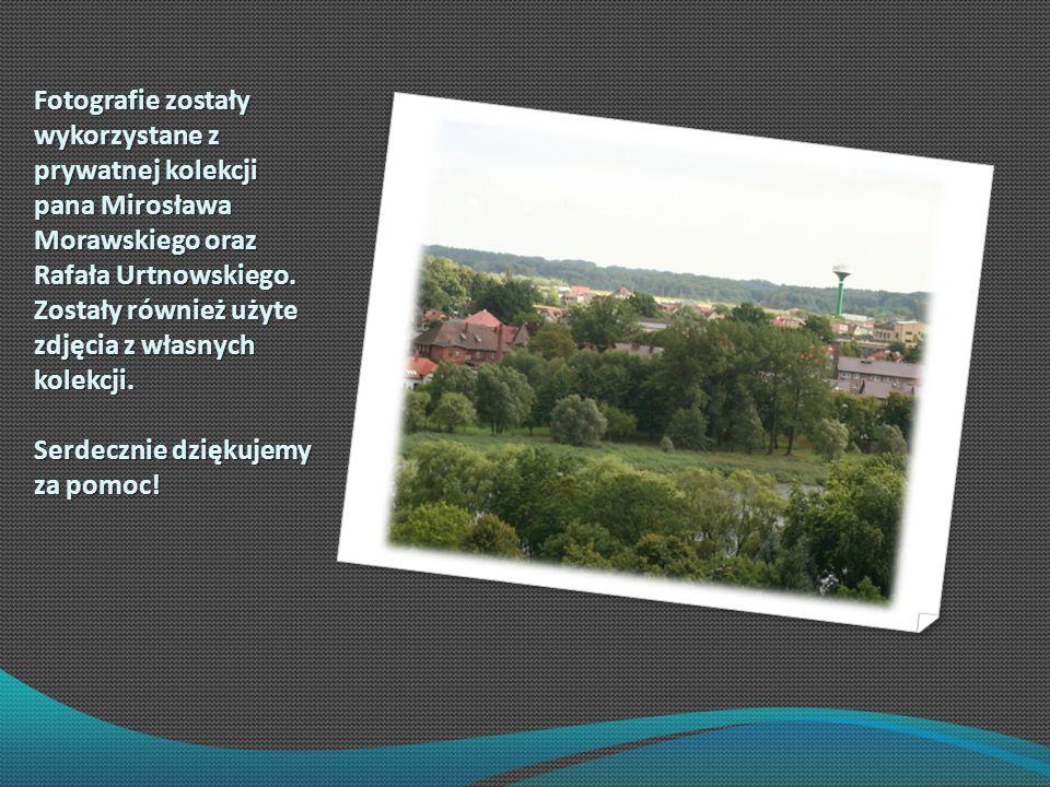 Fotografie zostały wykorzystane z prywatnej kolekcji pana Mirosława Morawskiego oraz Rafała Urtnowskiego.