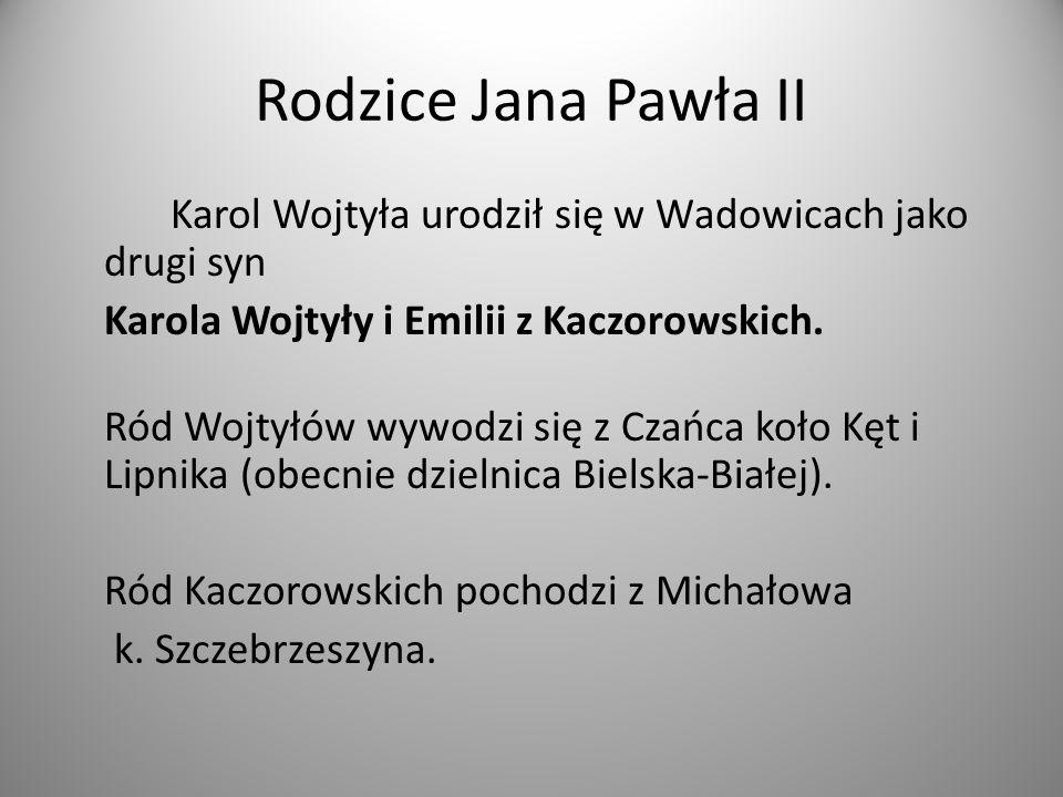 Rodzice Jana Pawła II