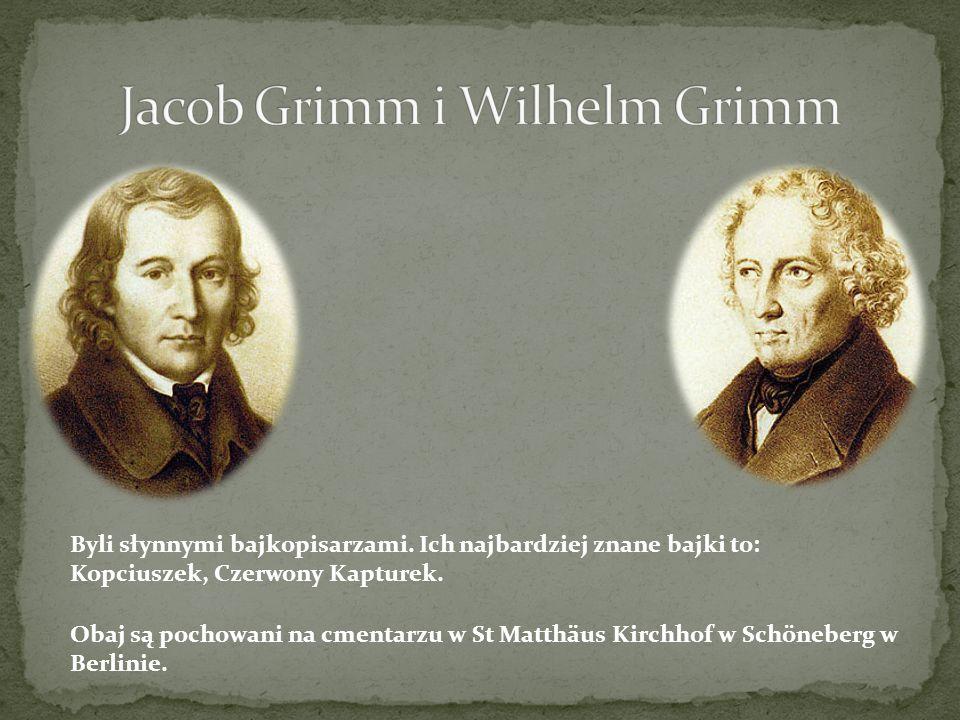 Jacob Grimm i Wilhelm Grimm