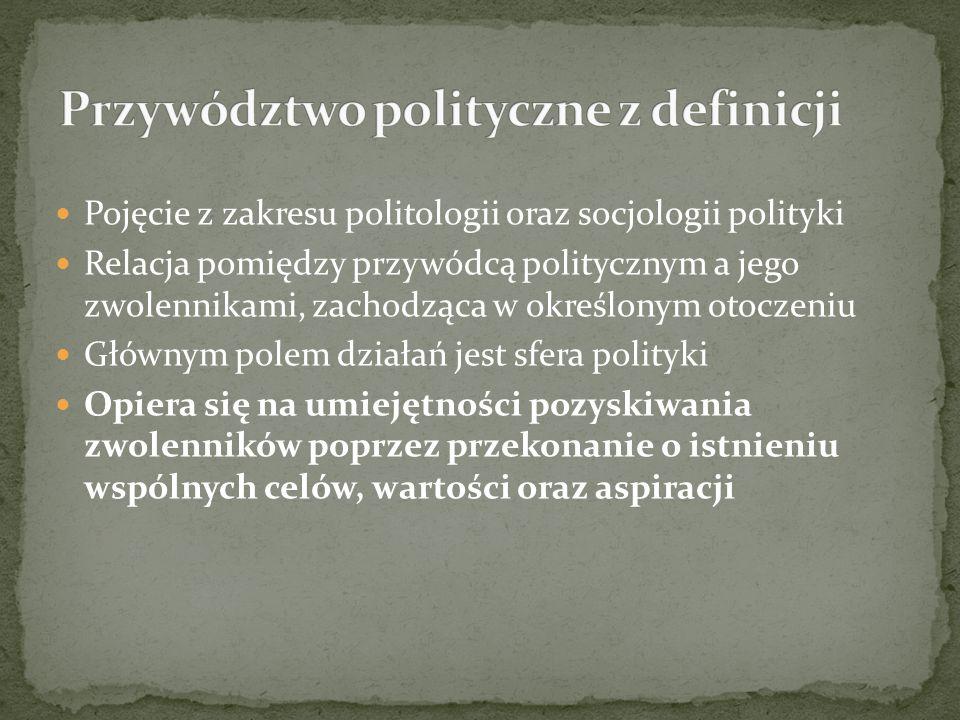 Przywództwo polityczne z definicji