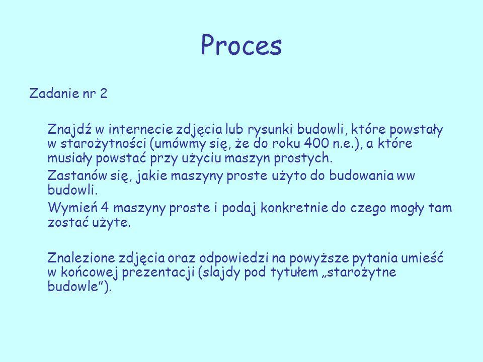 Proces Zadanie nr 2.