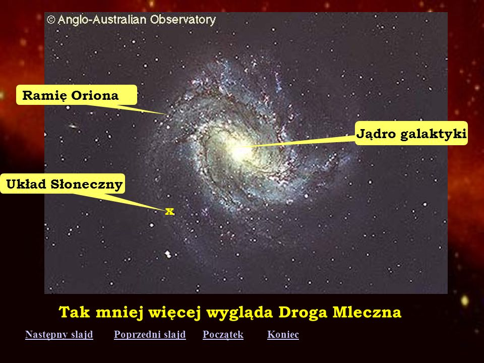 Tak mniej więcej wygląda Droga Mleczna