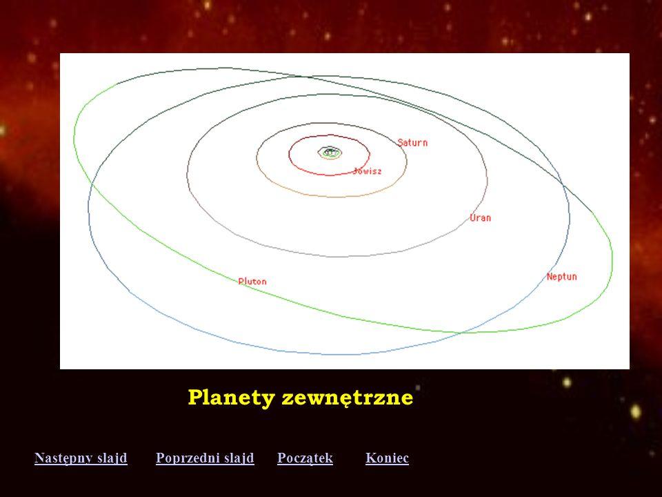 Planety zewnętrzne