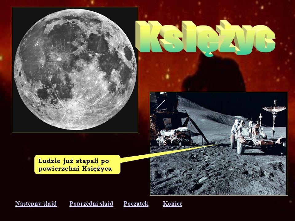 Księżyc Ludzie już stąpali po powierzchni Księżyca