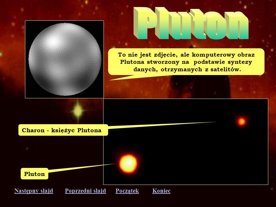 Pluton To nie jest zdjęcie, ale komputerowy obraz
