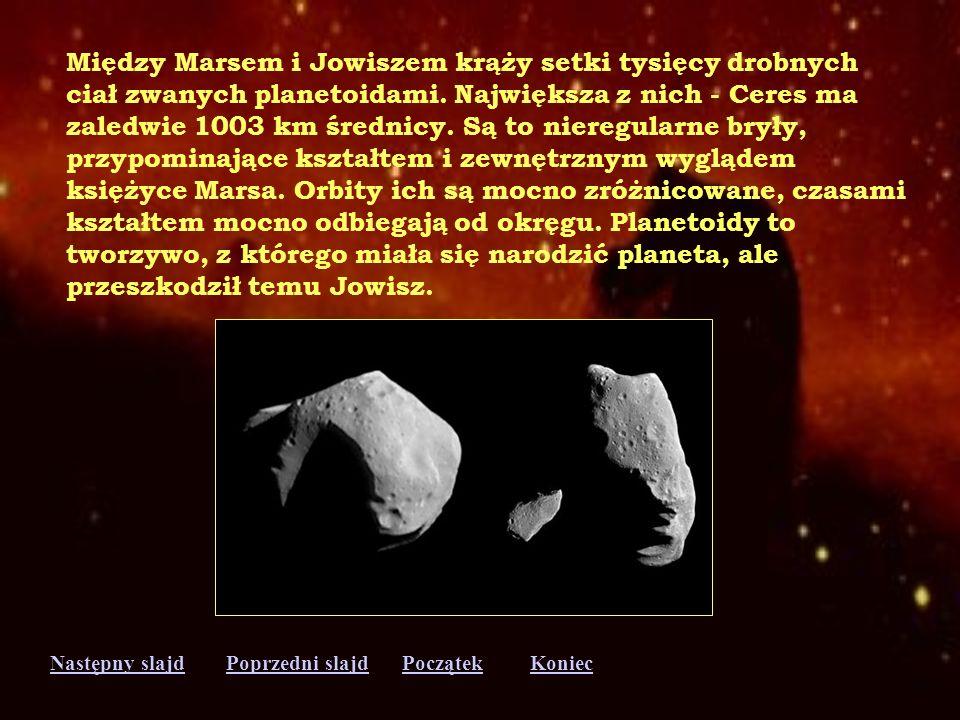 Między Marsem i Jowiszem krąży setki tysięcy drobnych
