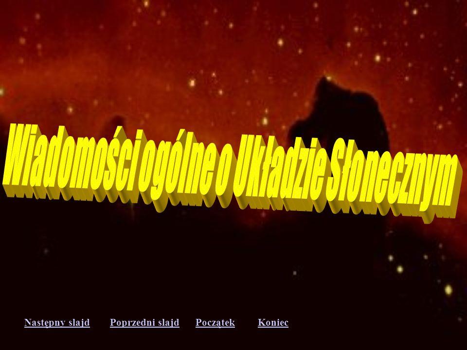 Wiadomości ogólne o Układzie Słonecznym