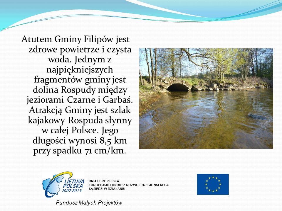 Atutem Gminy Filipów jest zdrowe powietrze i czysta woda