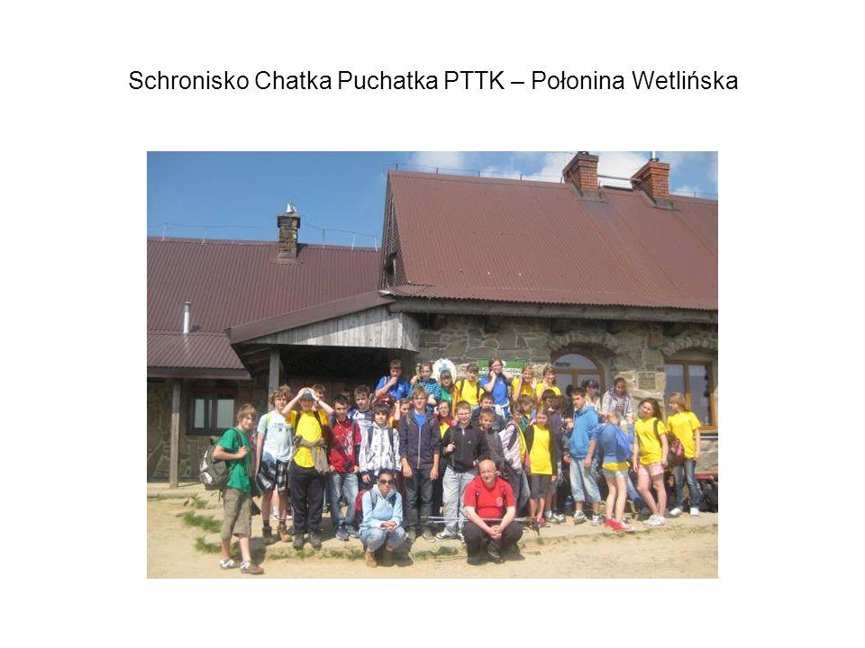 Schronisko Chatka Puchatka PTTK – Połonina Wetlińska
