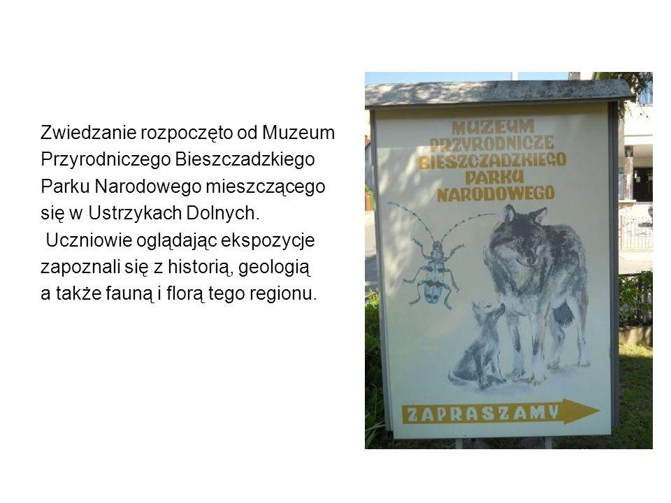 Zwiedzanie rozpoczęto od Muzeum