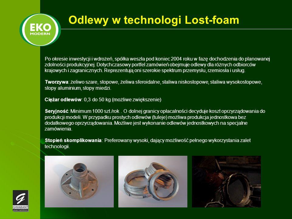 Odlewy w technologi Lost-foam