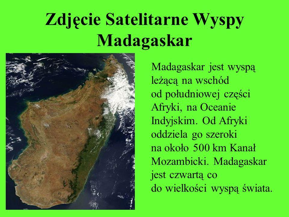 Zdjęcie Satelitarne Wyspy Madagaskar