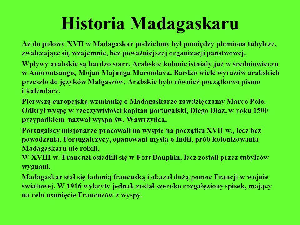 Historia Madagaskaru