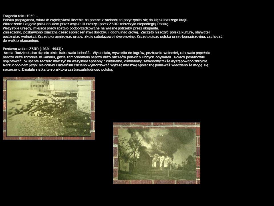 Tragedia roku 1939… Polska propaganda, wiara w zwycięstwo i liczenie na pomoc z zachodu to przyczyniło się do klęski naszego kraju.