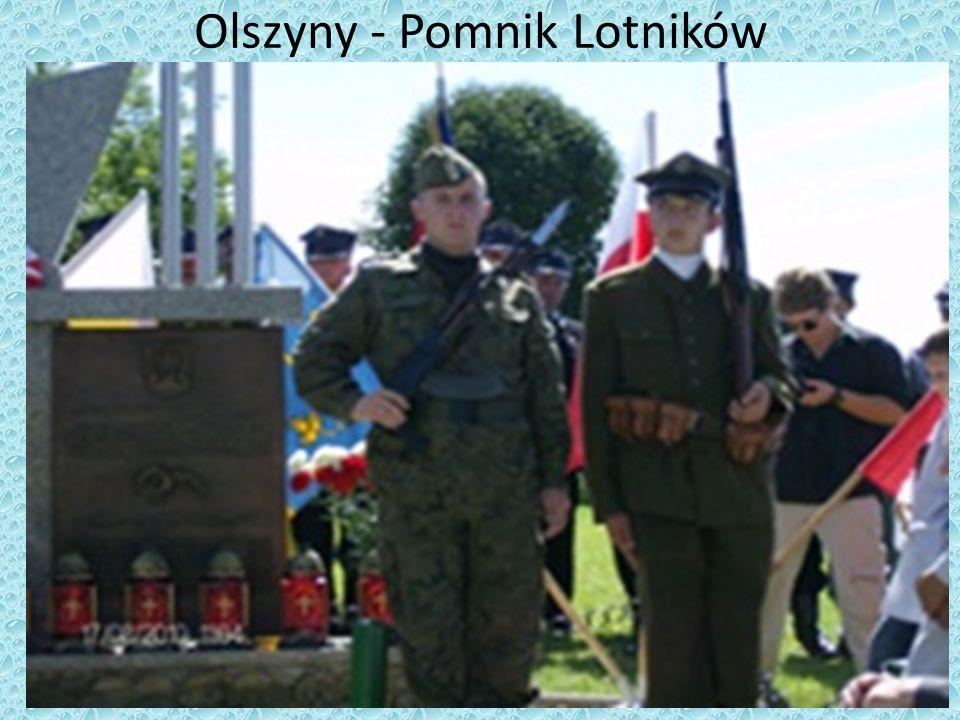 Olszyny - Pomnik Lotników