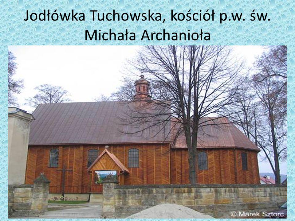 Jodłówka Tuchowska, kościół p.w. św. Michała Archanioła
