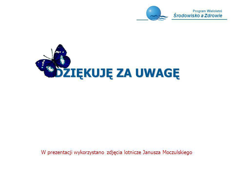 DZIĘKUJĘ ZA UWAGĘ W prezentacji wykorzystano zdjęcia lotnicze Janusza Moczulskiego