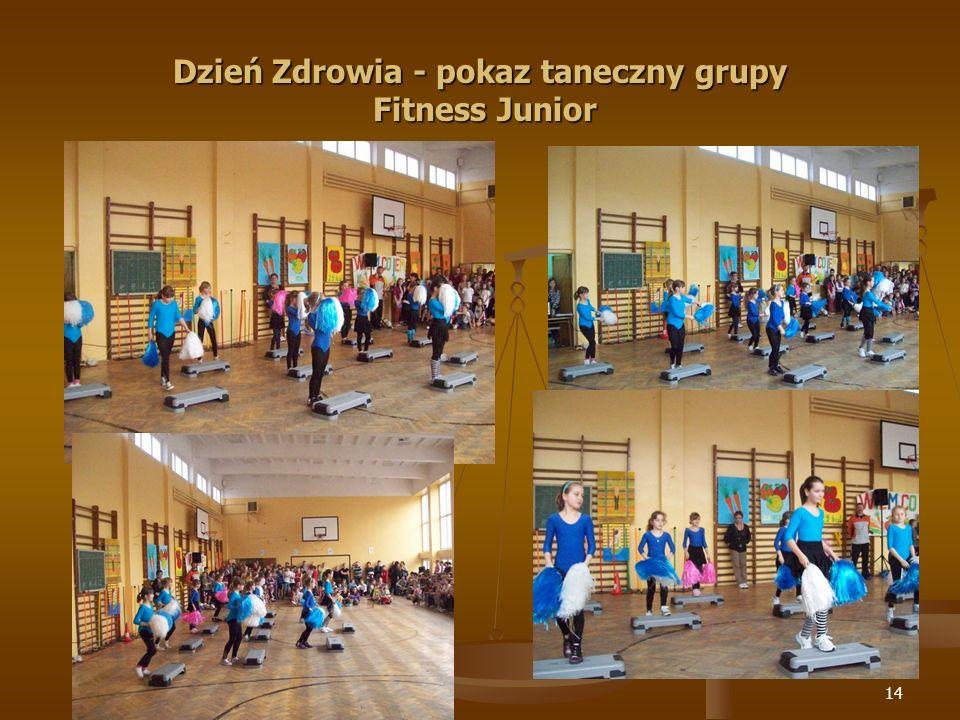 Dzień Zdrowia - pokaz taneczny grupy Fitness Junior