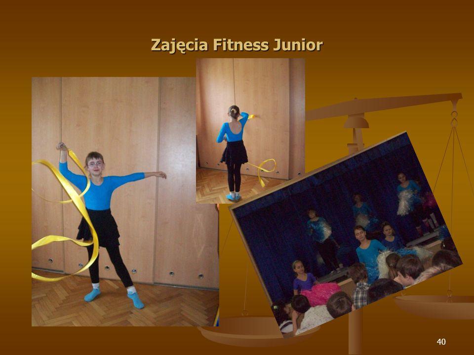 Zajęcia Fitness Junior