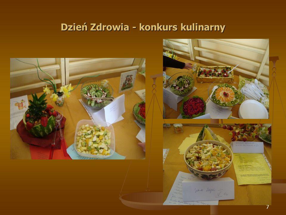 Dzień Zdrowia - konkurs kulinarny