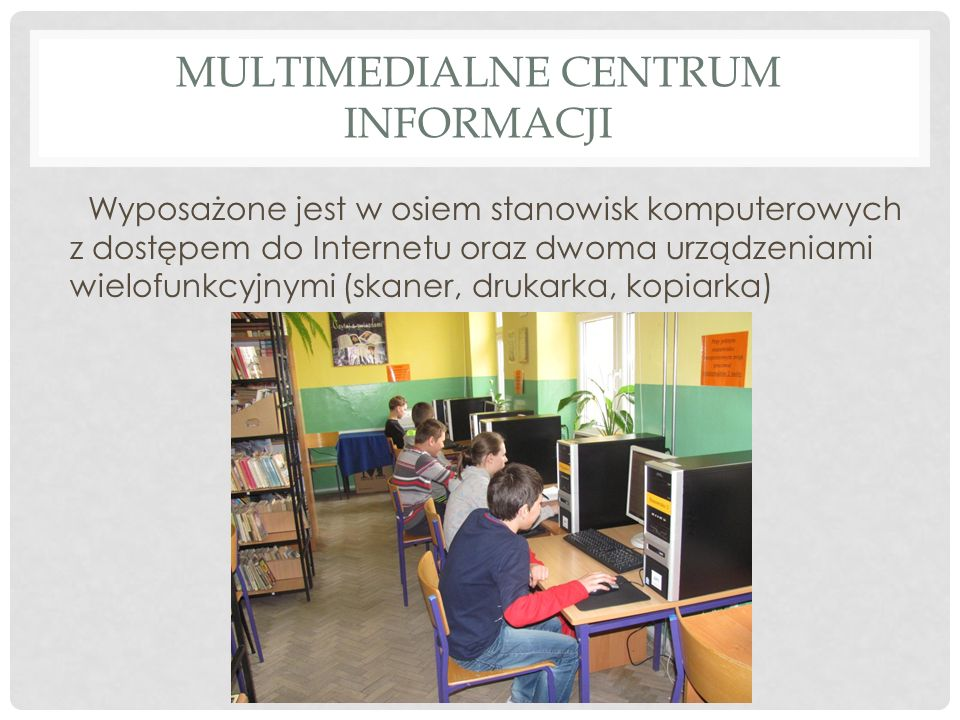 Multimedialne centrum informacji