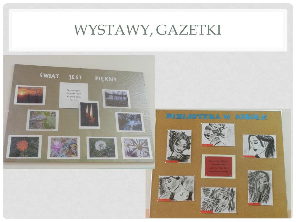 Wystawy, gazetki
