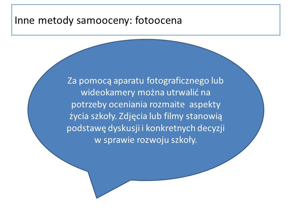 Inne metody samooceny: fotoocena