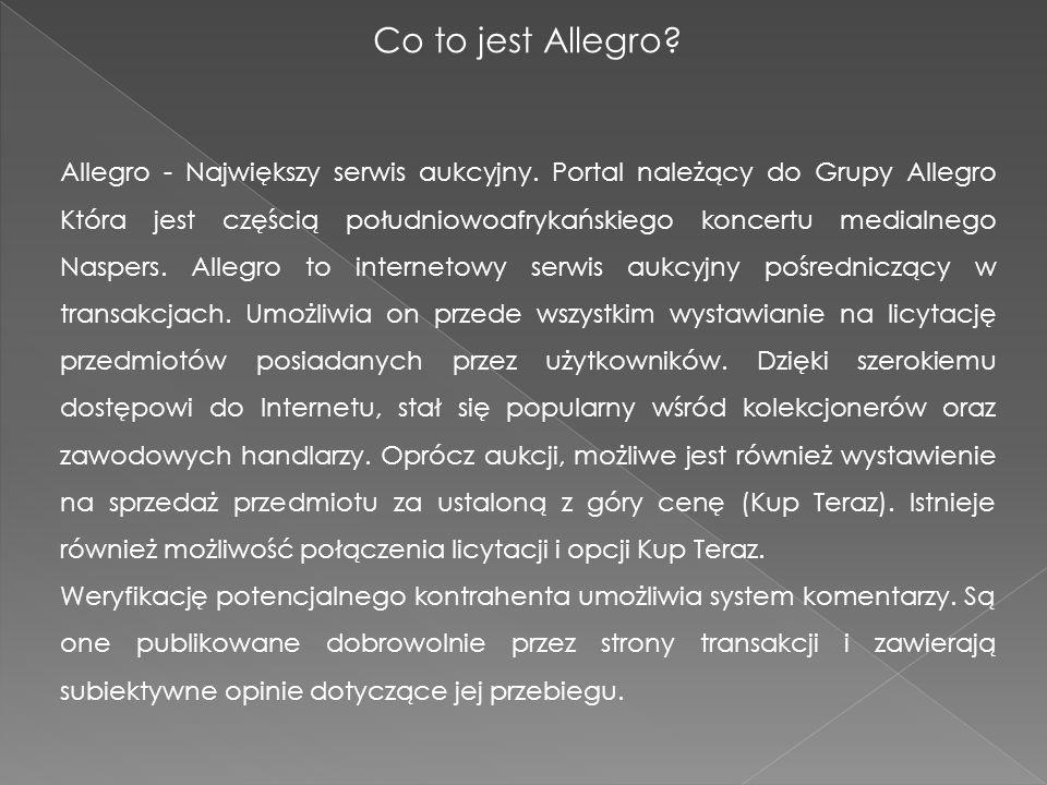 Co to jest Allegro