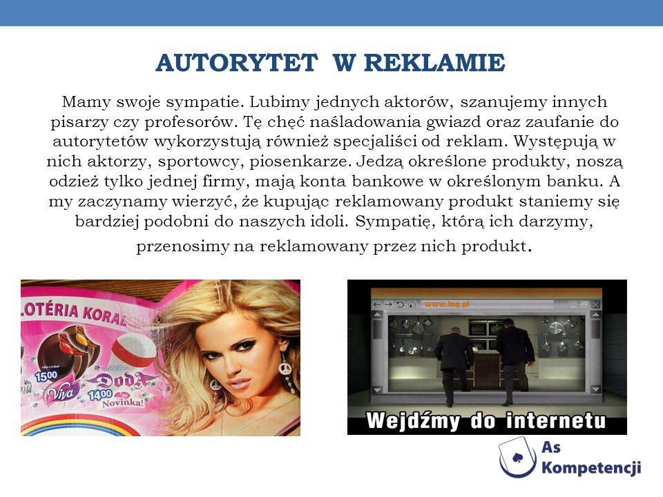 Autorytet w reklamie