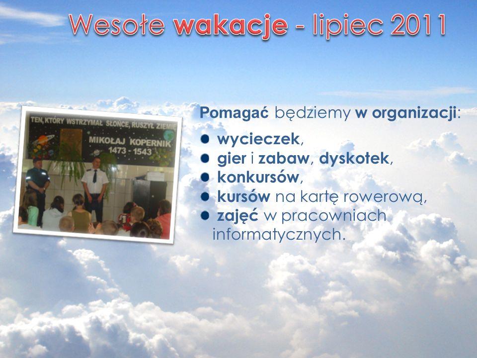 Wesołe wakacje - lipiec 2011