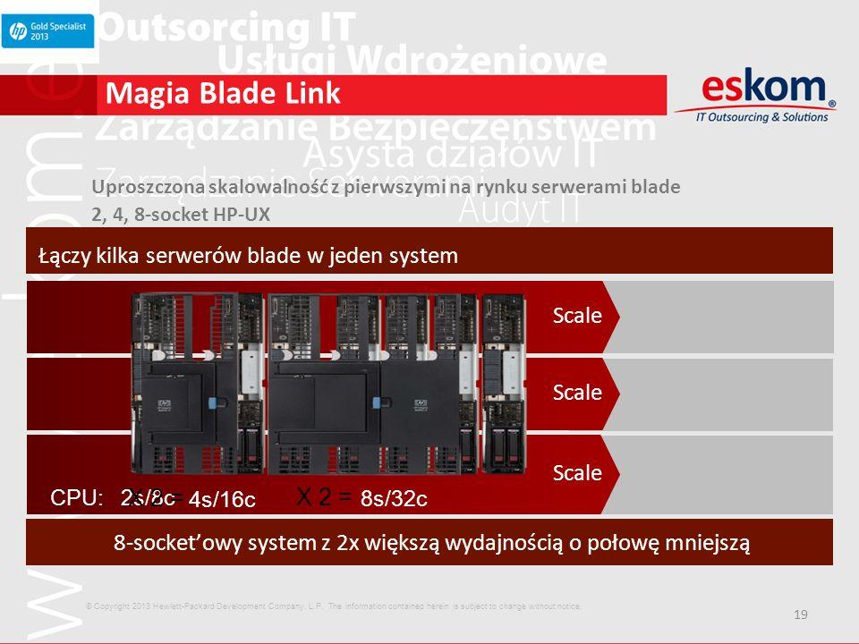 8-socket'owy system z 2x większą wydajnością o połowę mniejszą
