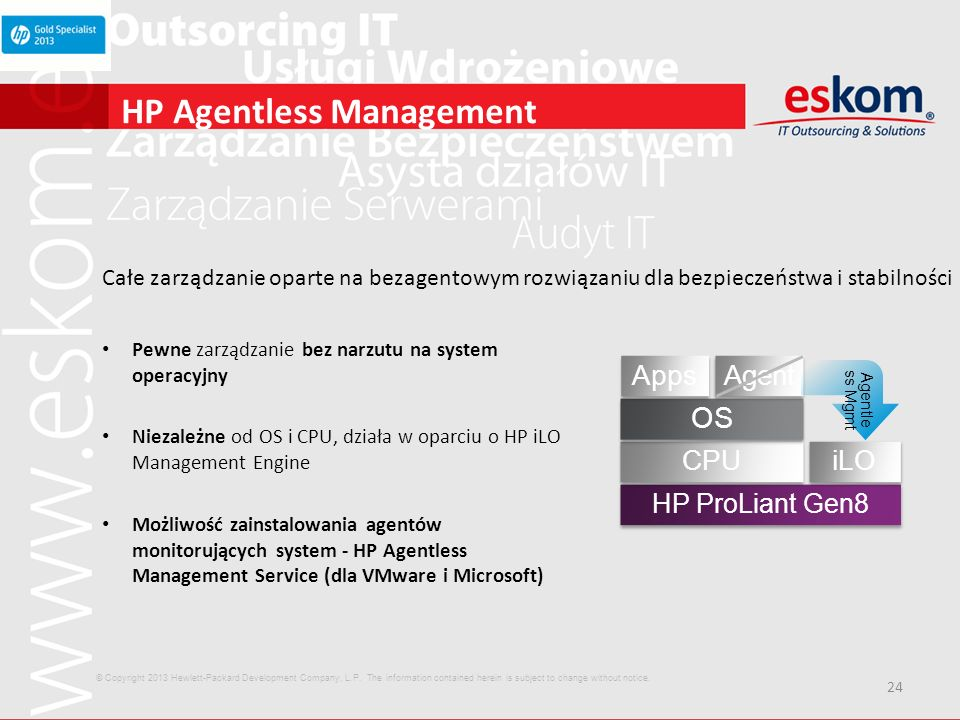HP Agentless Management