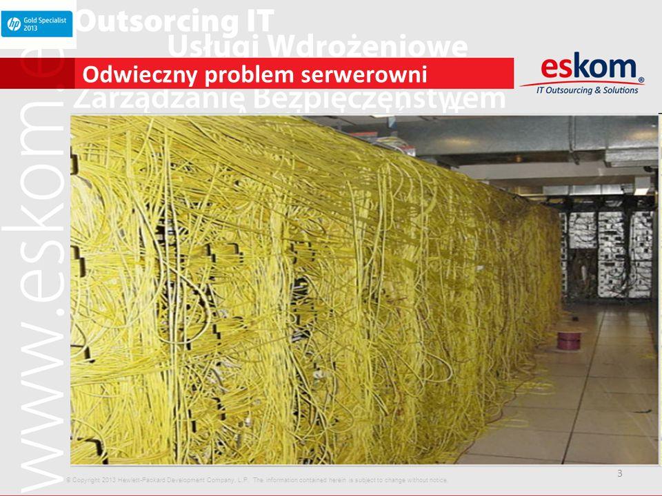 Odwieczny problem serwerowni