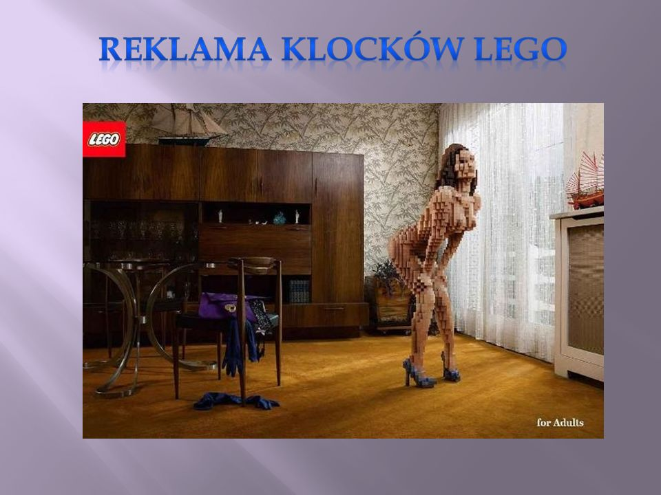 Reklama klocków Lego