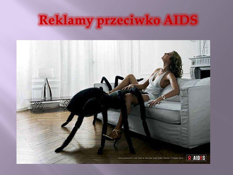 Reklamy przeciwko AIDS