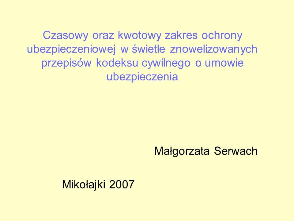 Małgorzata Serwach Mikołajki 2007