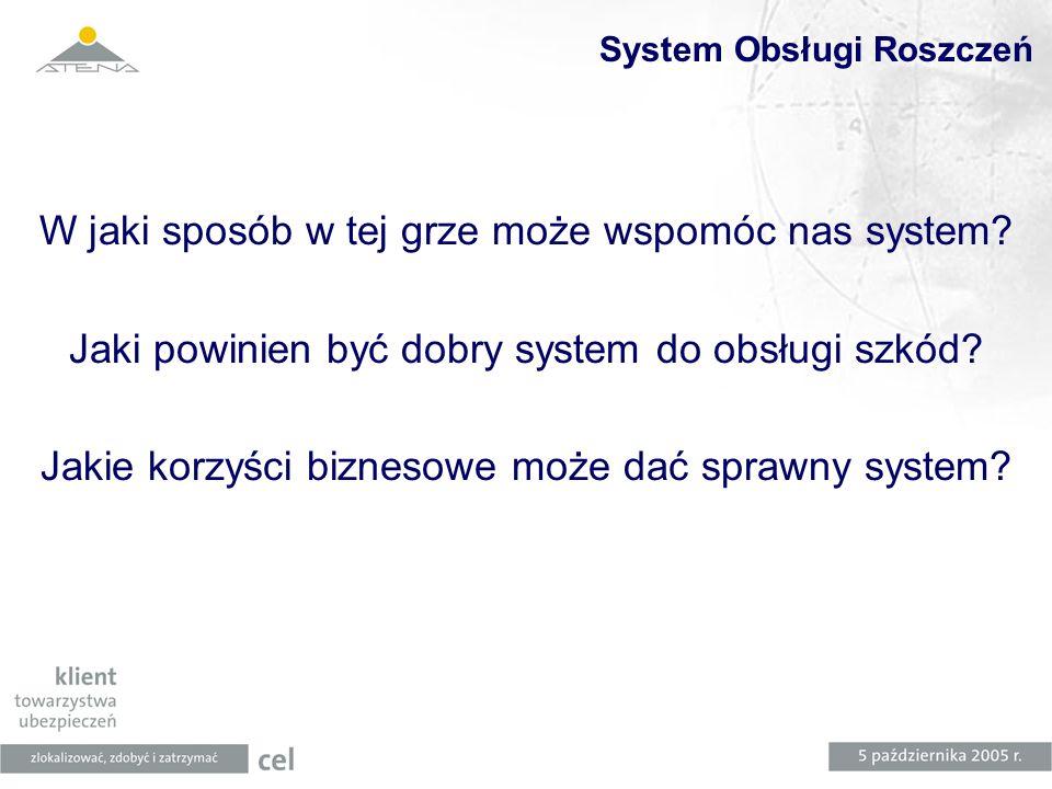 System Obsługi Roszczeń
