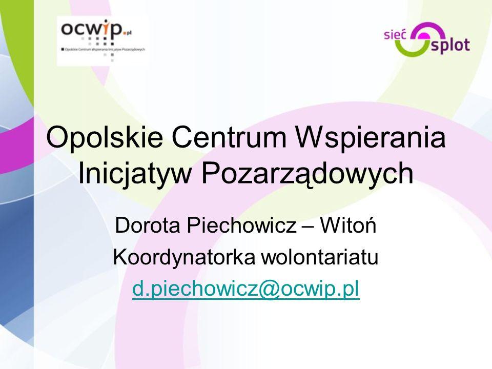 Opolskie Centrum Wspierania Inicjatyw Pozarządowych