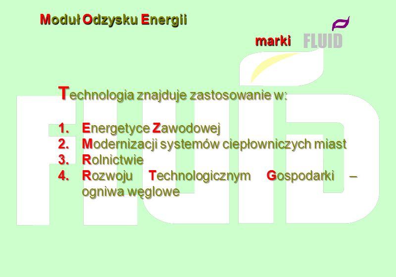 Technologia znajduje zastosowanie w: