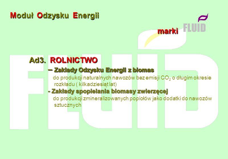 FLUID Moduł Odzysku Energii marki Ad3. ROLNICTWO