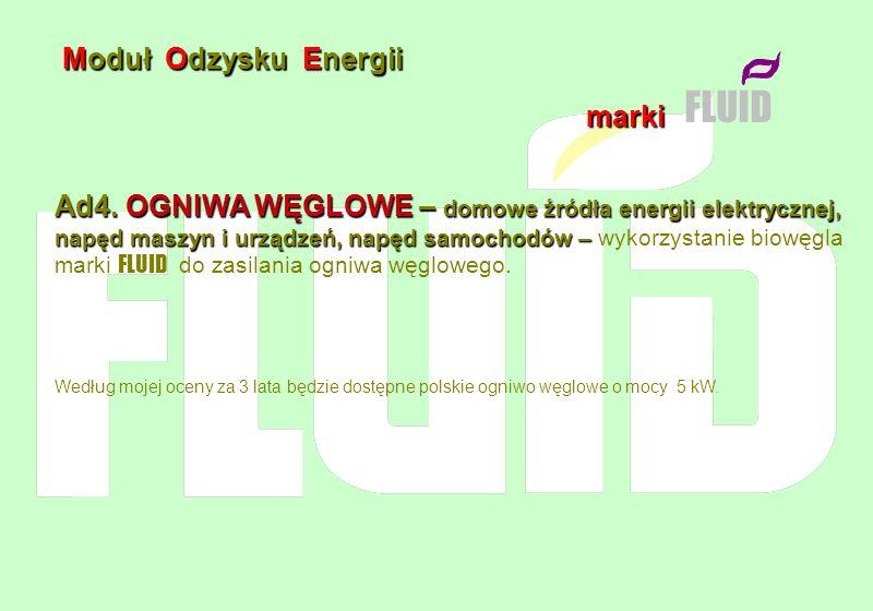 FLUID Moduł Odzysku Energii marki