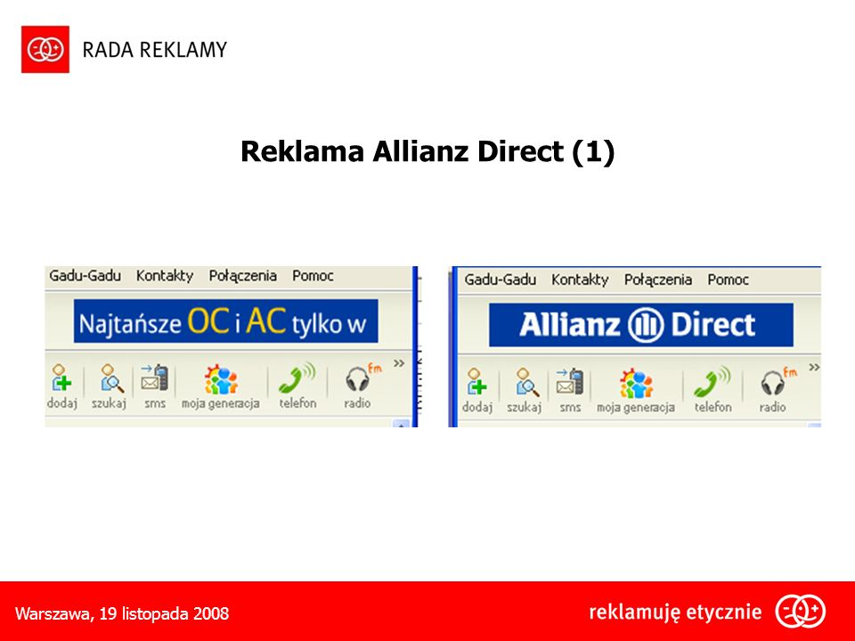 Reklama Allianz Direct (1)