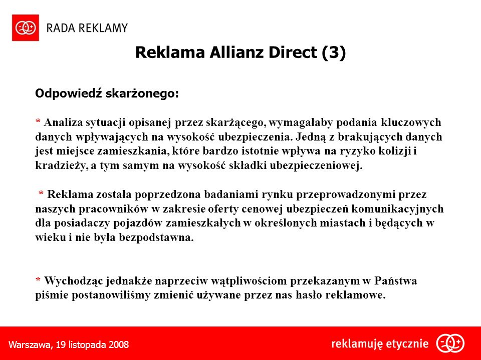 Reklama Allianz Direct (3)