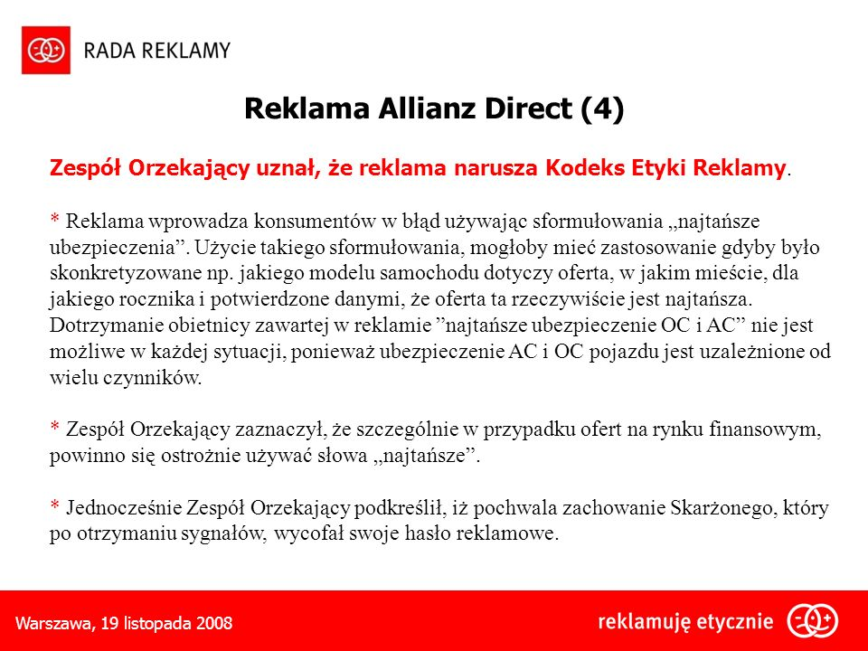 Reklama Allianz Direct (4)