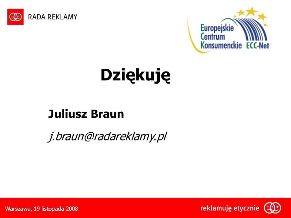 Dziękuję Juliusz Braun j.braun@radareklamy.pl