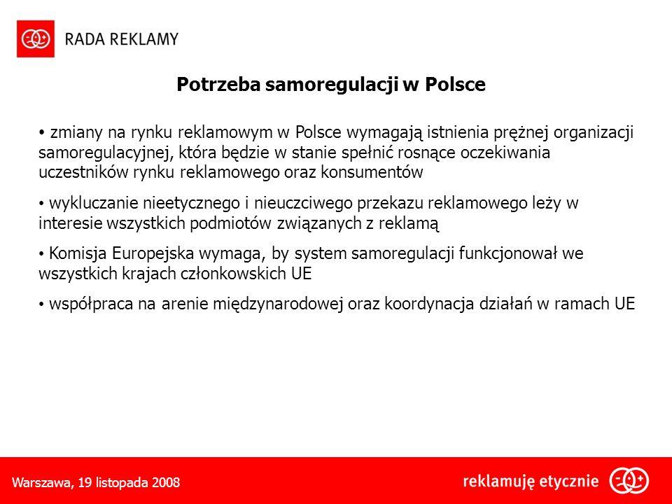 Potrzeba samoregulacji w Polsce