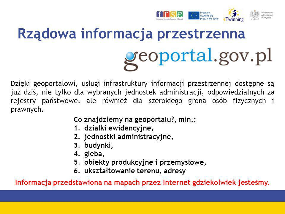 Rządowa informacja przestrzenna