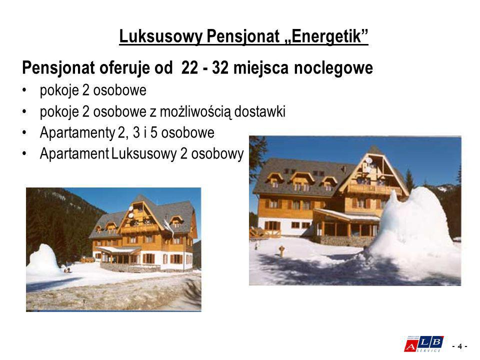 """Luksusowy Pensjonat """"Energetik"""