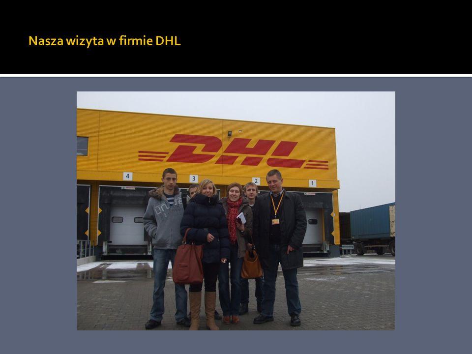 Nasza wizyta w firmie DHL