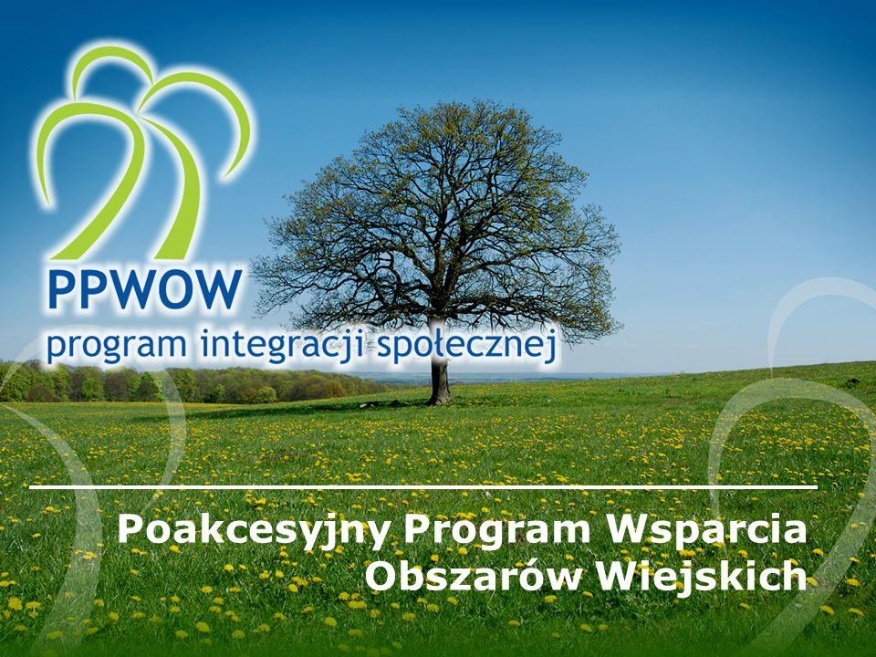 Poakcesyjny Program Wsparcia Obszarów Wiejskich